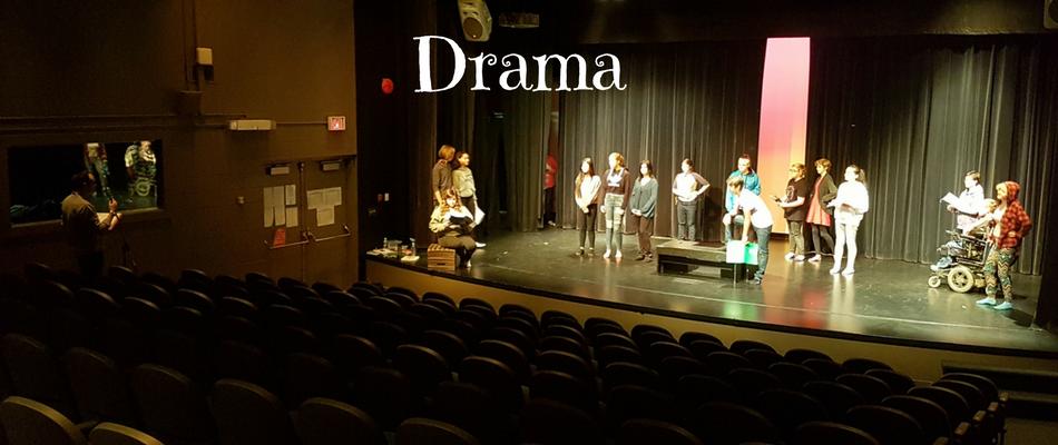 Building Character, Honing Skills – Drama
