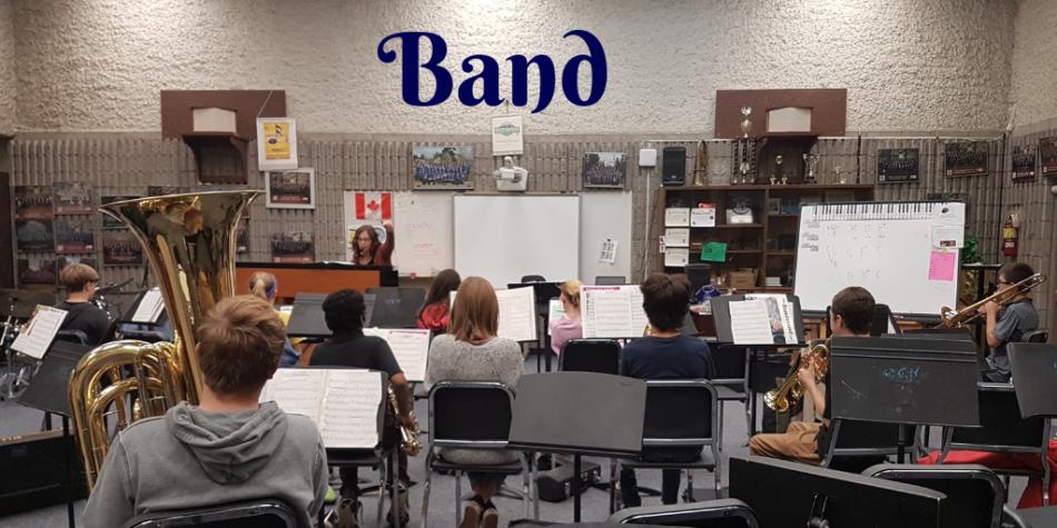 Building Character, Honing Skills – Band