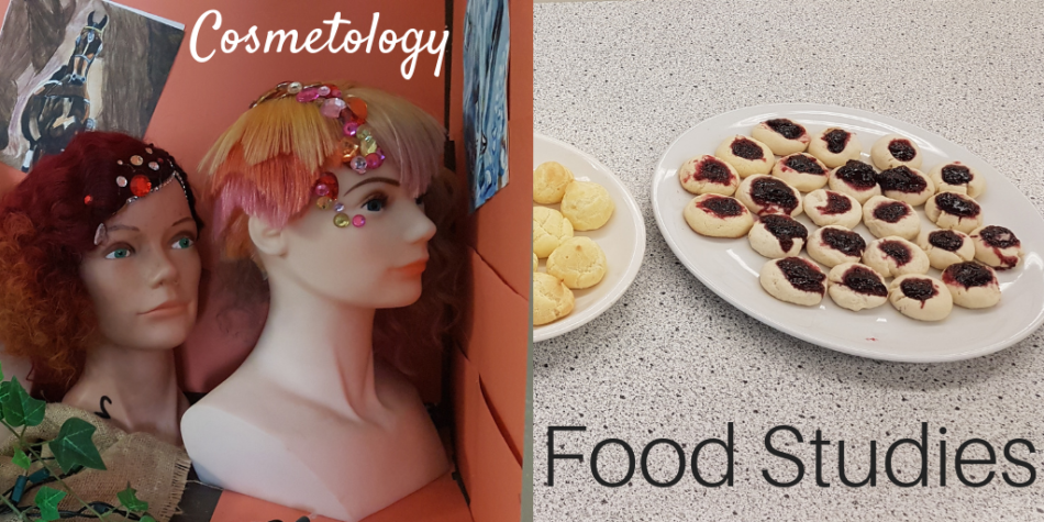Building Character, Honing Skills – Cosmetology & Food Studies