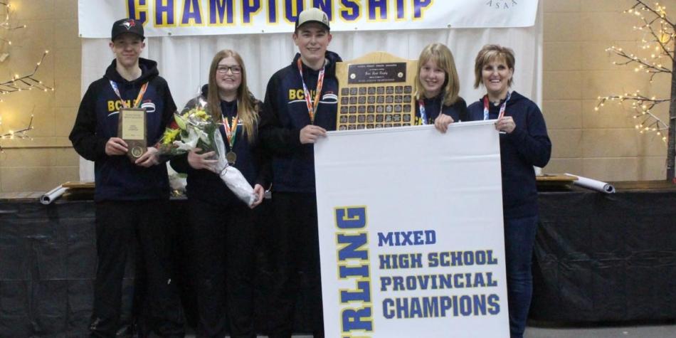 Mixed Curling Provincial Gold!